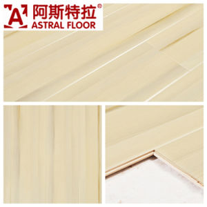 12mm High Glossy Beautiful Decorative Paper Woodenlaminate Flooring pictures & photos