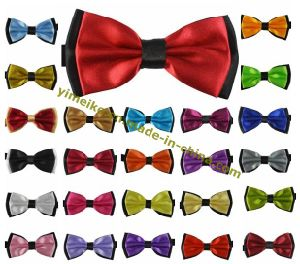 Classical Fashion 2ply Satin Mens Bow Tie 25 Colors Collection pictures & photos