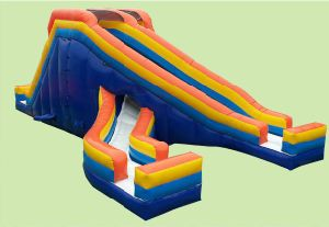 Popular Inflatable Pool Slide 16′ Inflatable Water Slides pictures & photos