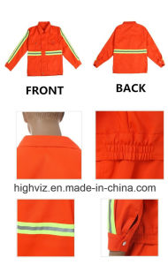 Reflective Safety Jacket for Cleaning Workers (C2405) pictures & photos