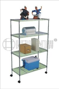 Light Duty Metal Storage Shelving Rack (LD7535120B4W) pictures & photos
