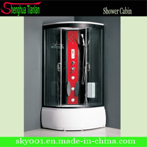 Massage Simple Glass Bathroom Sauna Steam Shower Cabin (TL-8807) pictures & photos