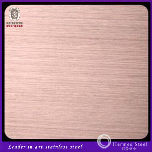 New Products Rose Gold Hairline Stainless Steel Sheet Free Samples pictures & photos