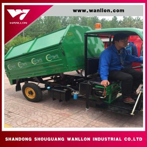 Three Wheel Garbage Truck /Waste Disposal Truck pictures & photos