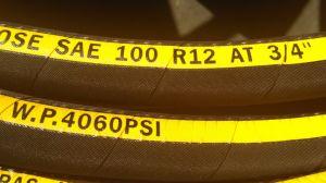 Super High Pressure Four Spiral Steel Wire Oil Flexible Hose