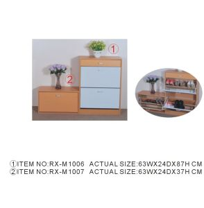 2014 Hot Sale Wooden Shoe Cabinet (RX-1006/1007)
