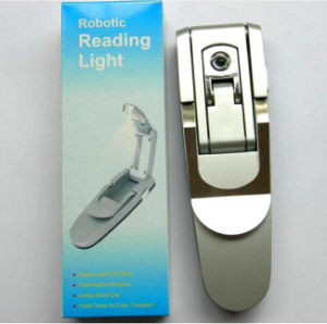 High Quality LED Book Reading Light with Logo Printed (4002) pictures & photos