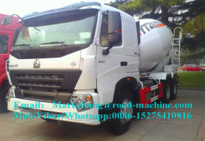 Sinotruck HOWO A7 336/371HP 6/8/10/12 M3/Cbm Concrete/Cement Mixer Truck pictures & photos