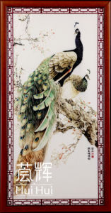 China ceramic painting wall picture tile h 012 china - Painting ceramic tile walls ...