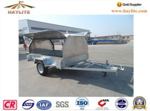Haylite 8*5 Trailer with Aliminum Box Hot DIP Galvanized pictures & photos