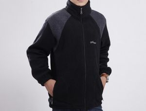 Custom Brand Polyester Men Polar Fleece Jacket pictures & photos