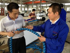 PE Spiral Trunking Extrusion Line pictures & photos