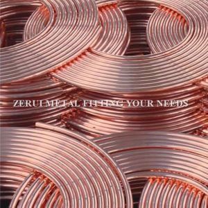 R410A Rated Soft Annealed Refrigeration Copper Tube pictures & photos