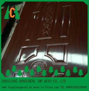 Top Quality High Glossy Melamine Door Skin pictures & photos