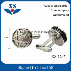 Hot Sale and High Quality Metal Steel Cufflink