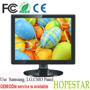 Desktop PC Monitor 15 Inch LCD Monitor with VGA/HDMI Input pictures & photos