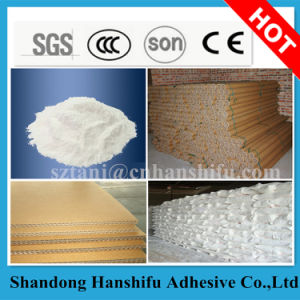 Corn Starch Glue for Paper Core Tube Making pictures & photos