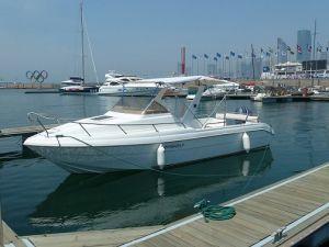 Qd 25 Cabin Fiberglass Speed Boat (QD 25 CABIN)