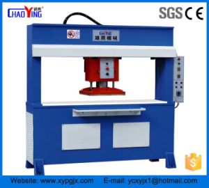 CE Hydraulic Traveling Head Shoe Making Machine/Rubber Slipper Cutting Machine pictures & photos