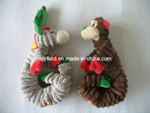 Elastic Dog Chew Toy Squeaker Donkey Dog Toy pictures & photos