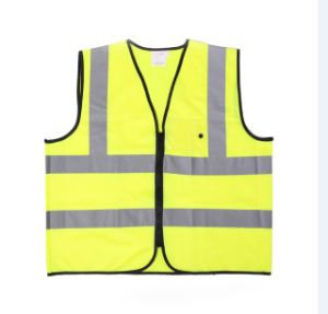High Visibility Reflectie Vest with Refector Tape (TR-BX-015)
