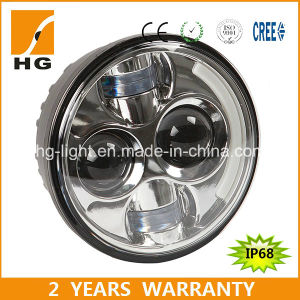 Black IP68 6000k 5.67inch LED Headlight pictures & photos