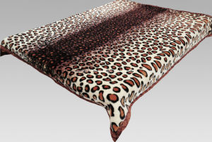 Hot Sale 100% Polyester Raschel Blanket Sr-MB170301-11 Soft Printed Mink Blanket pictures & photos