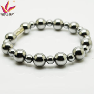 Htb008A Men Beaded Hematite Healing Bracelet pictures & photos