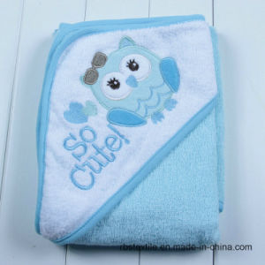 Cotton Baby Hooded Bath Towel Promotional Poncho pictures & photos