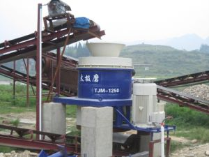 Flexible Vertical Grinding Mill for Making Sand pictures & photos
