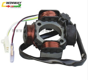 Ww-8601 Motorcycle 5 Wire 4 Poles Magneto Stator Coil Generator for Cg125 Zj125 pictures & photos