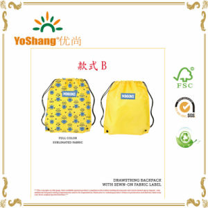 2016 Promotional Drawstring Bag, Wholesale Drawstring with Shoulder, Drawstring Sport Bag pictures & photos