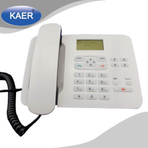 Low Phone Cost GSM Desktop Wireless Phone (KT1000 (180)) pictures & photos