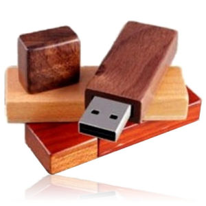 Natural Wooden USB Pen Drive Keyring USB Pendrive pictures & photos