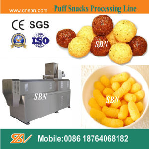 Automatic Corn Puffs Snack Extruder pictures & photos