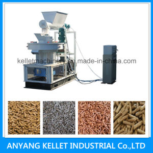 Sawdust Straw Wood Biomass Pellet Press Mill Extruder Machine
