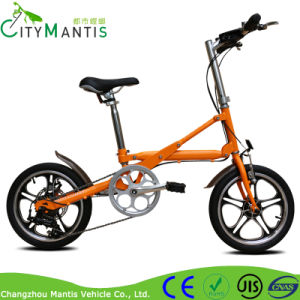 16 Inch Folding Bicycle Mini Portable Pocket Bike with Shimano Derailleur pictures & photos
