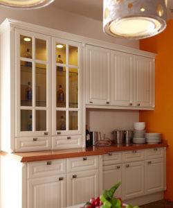 PVC Finish Idyllic Design Custom Kitchen Furniture (zc-056) pictures & photos