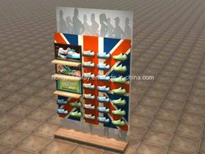 Shoes Shop Wall Shelf, Store Fixture, Slatwall pictures & photos