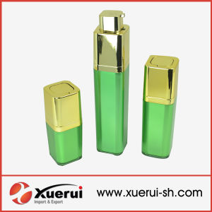 Square Rotary Acrylic Airless Bottle pictures & photos