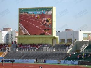 Fashionable Outdoor P16 LED Sports Display (UC-OF-P16-1R1G1B)