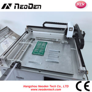SMT 0402, Tqfp Mounting Machine for PCB Assembly, Solder Mounting Machine--24 Feeders pictures & photos