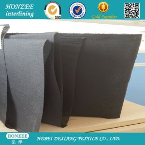 Polyester Woven Nonfuse Interlining for Cap T2050 pictures & photos