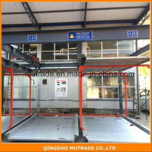 Mutrade Brand Car Vehicle Semi Automatic Bi-Directional Puzzle Parking System pictures & photos