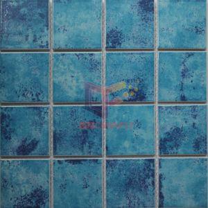 Blue Ceramic Swimming Pool Mosaic (CST7303) pictures & photos
