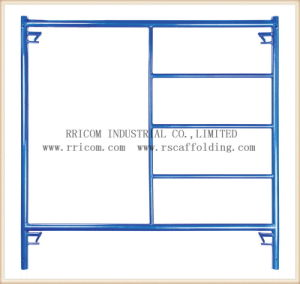 Construction Movable Powder Coated Walking Thru Scaffolding Frame pictures & photos