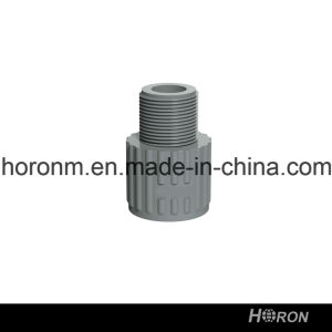 CPVC Sch80 Water Pipe Fitting (MALE COUPLING) pictures & photos