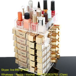 High Quality Clear Acrylic Lipsticks Display Stand pictures & photos