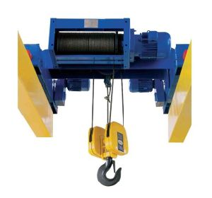 Double-Girder Hoist 4/1 Rope Reeving pictures & photos