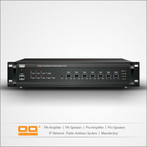 280W 6 Zone PA Mixer Amplifier for Public Address System pictures & photos